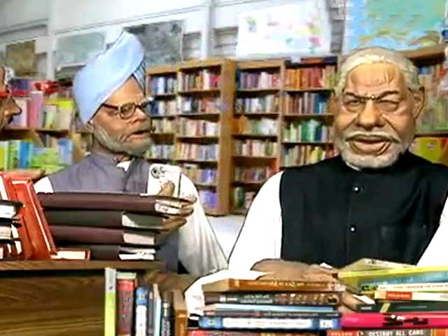 Video : Modi happy even though his book doesn't become a bestseller