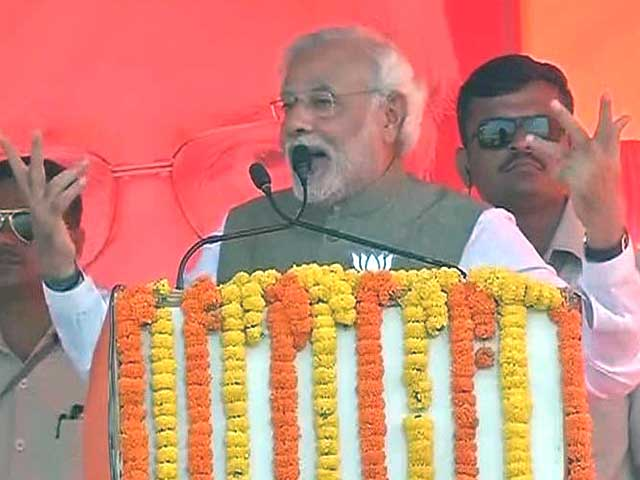 Video : In Bihar rally, Narendra Modi's 'RSVP' jibe at the Gandhi family