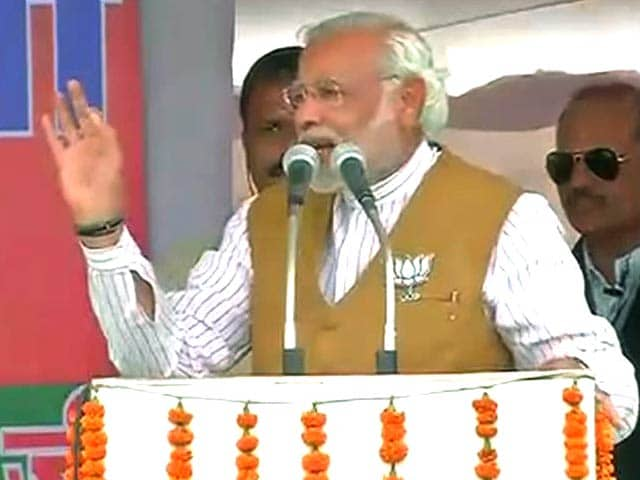 Video : Heard about 2G, now we hear about jijaji: Narendra Modi's swipe at Robert Vadra