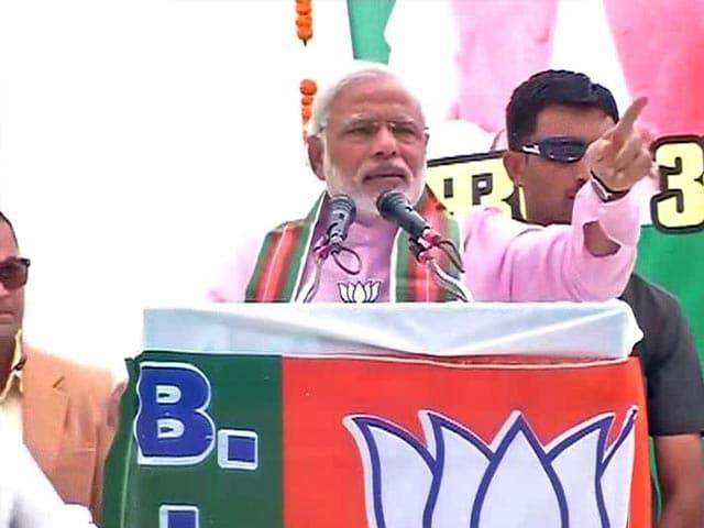 Video : 'Rahul bhaiya' checks out poor homes like tourists visit the Taj: Narendra Modi