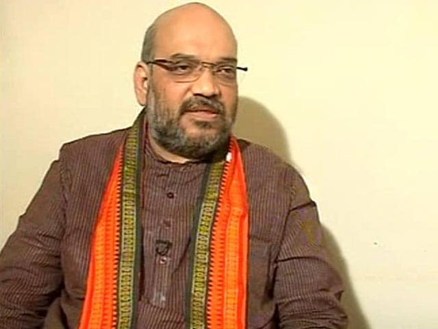 Video : I meant 'revenge' for lack of development: Amit Shah clarifies 'hate speech'