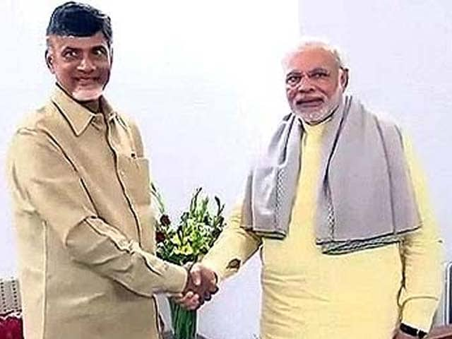 Video : In show of unity, Chandrababu Naidu to join Narendra Modi on Telangana campaign trail