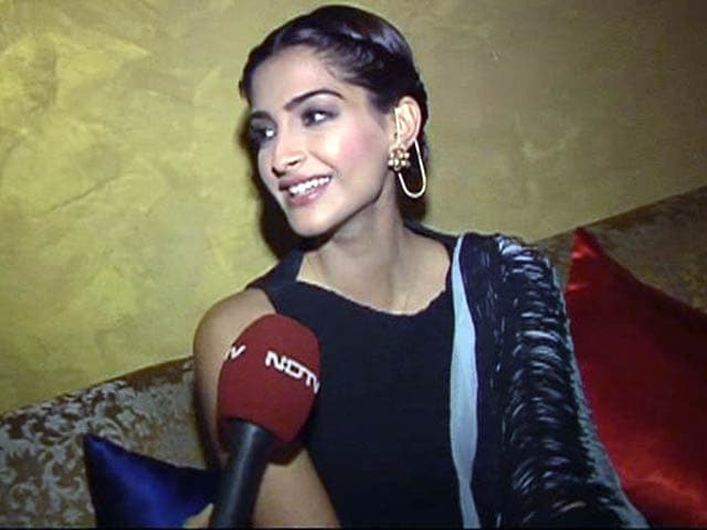 Video : Sonam Kapoor on why she loves the name Dolly