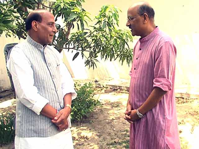 Video : Walk The Talk with Rajnath Singh
