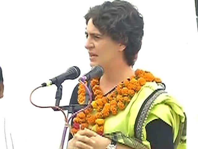 Video : देश चलाने के लिए 56 ईंच का सीना नहीं, दरियादिली चाहिए : प्रियंका गांधी