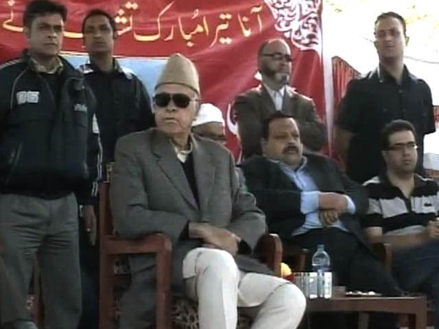 Video : Explosion in Jammu & Kashmir's Badgam hours before Farooq Abdullah's rally, 12 injured