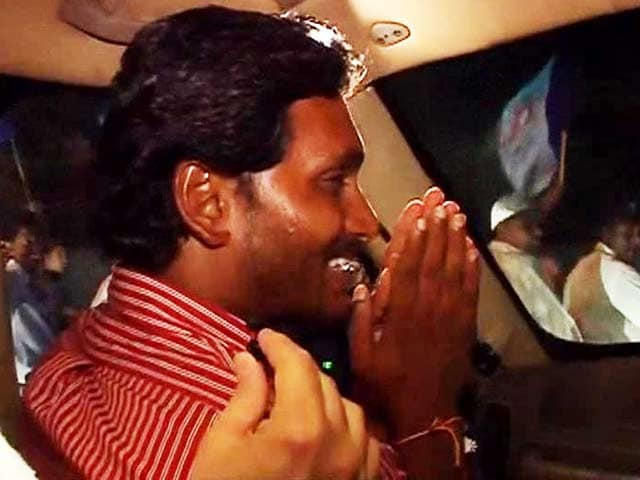 Video : Watch: riding with Jagan Mohan as he campaigns in Hyderabad