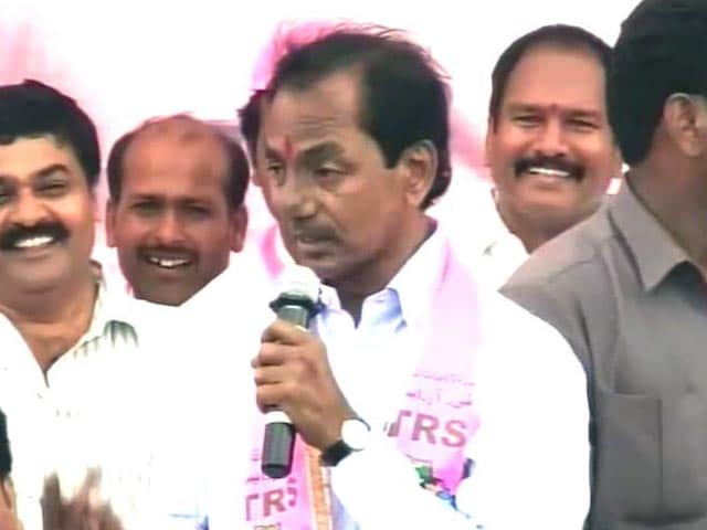 Video : Sharp, aggressive campaigns in Telangana