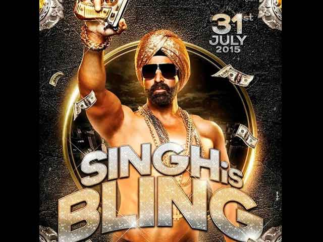 Akshay and Katrina in Singh Is Bling