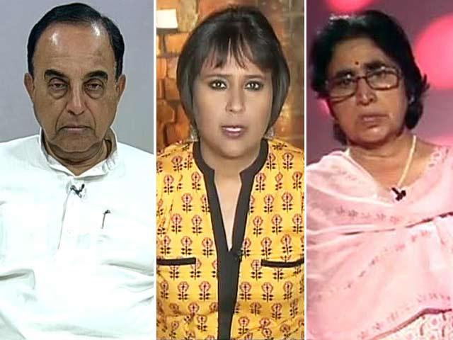 Video : Watch: 'Yeh Dil Maange More' - Captain Batra's Mother Debates the BJP