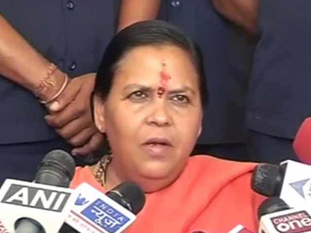 Videos : राखी सावंत की तरह हैं प्रियंका : उमा भारती