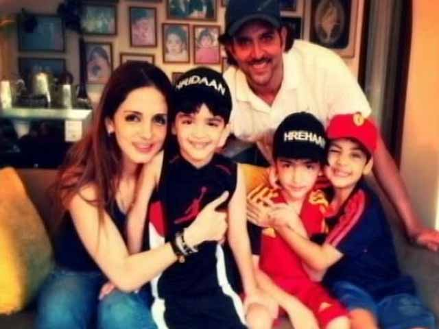 Video : Hrithik, Sussanne Celebrate Son's Birthday