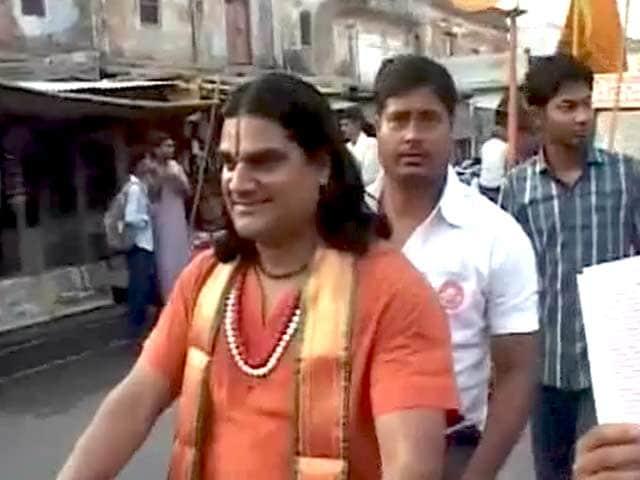 Videos : चुनावी चोले में अयोध्या के साधु