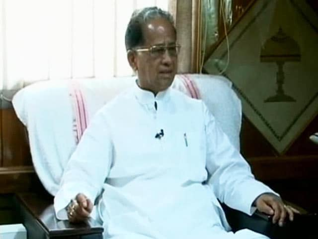 Video : Will Conduct a Judicial Probe into Violence: Assam Chief Minister Tarun Gogoi to NDTV