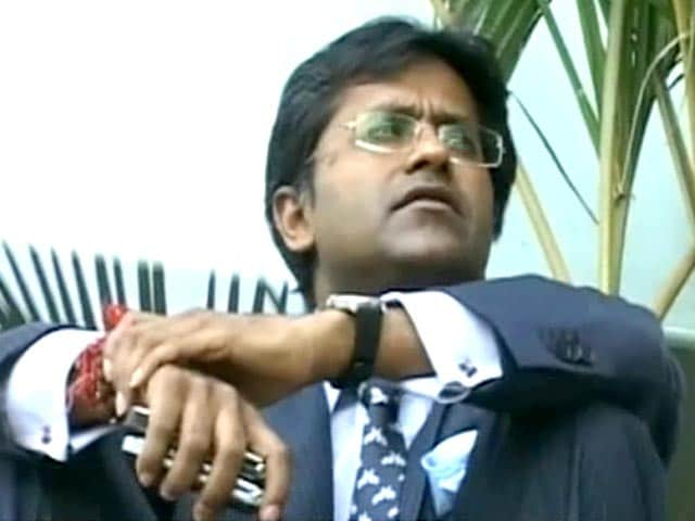 Video : Will Lalit Modi Take Charge of Rajasthan Cricket Association?