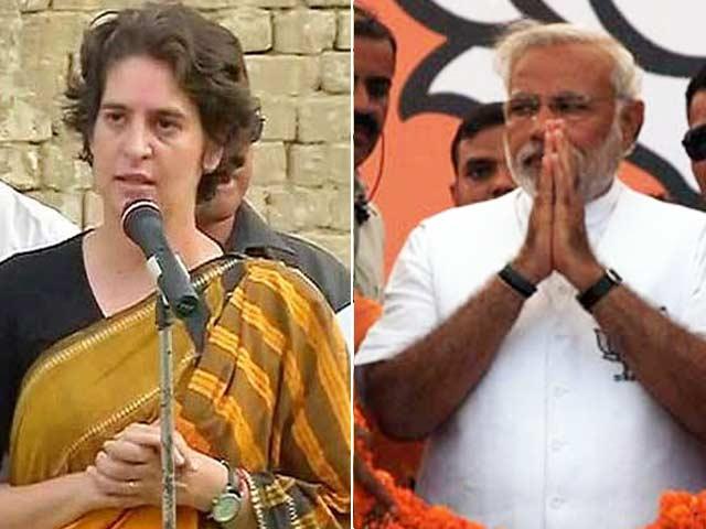 Video : In Amethi: Modi vs Priyanka