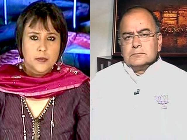 Video : Watch: Priyanka Gandhi Must Apologise - Arun Jaitley on 'Neech Rajniti' Comment