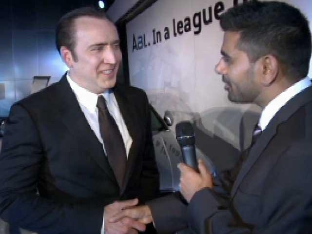 Video : Nicolas Cage Wants to Visit India, May do <i>National Treasure 3</i>