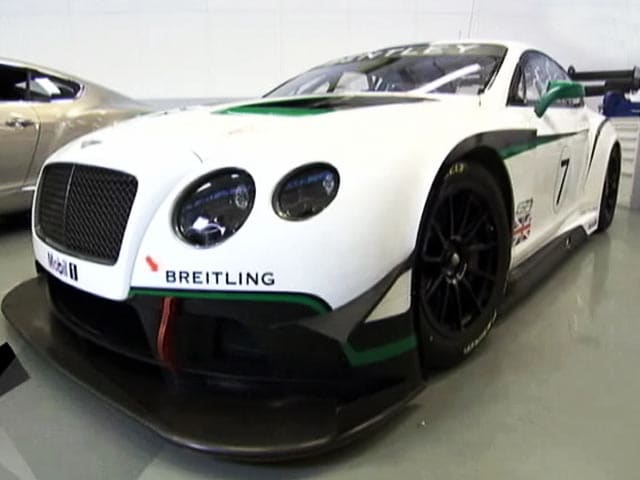 Video : Bentley's Hot GT3 Racer & a Trip to Bathrust