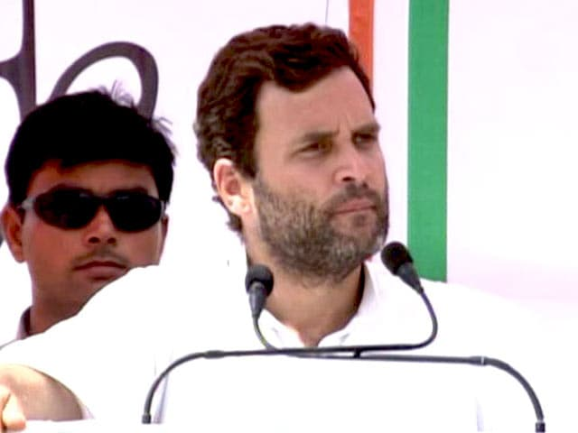 Video : Mr Modi, Give Women Respect: Rahul in Varanasi After 'Payback' Roadshow
