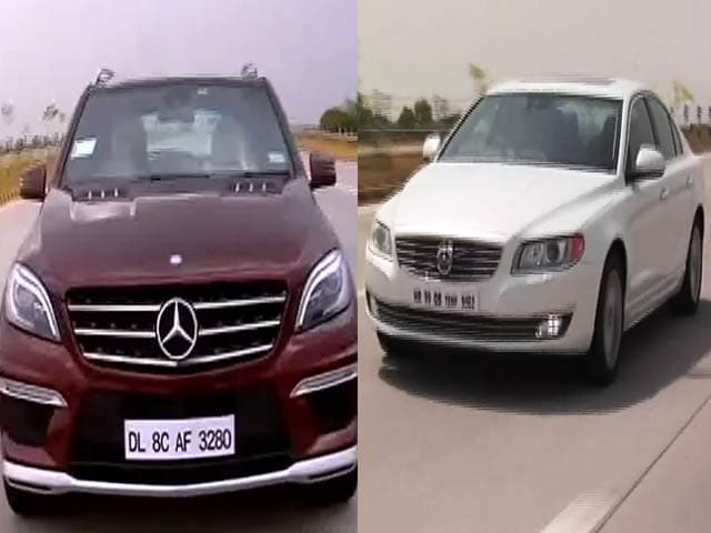 Video : Mercedes-Benz ML 63 AMG, Volvo S80 & a Chat With Nicolas Cage!