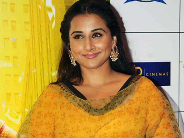 Video : Vidya Balan Clears the Air