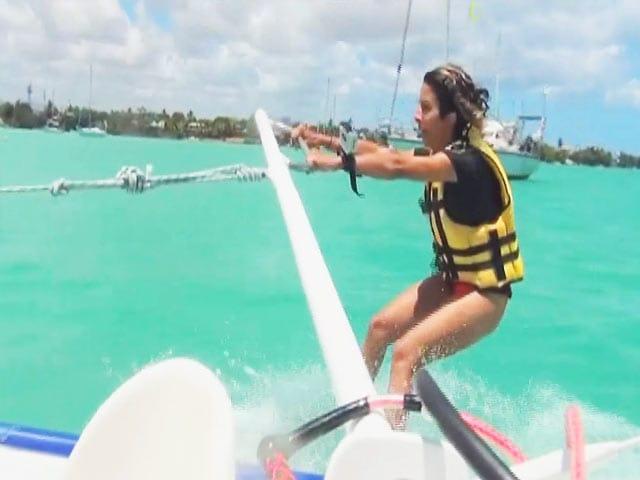 Video : Adventure on High Seas in Mauritius With Anushka Menon