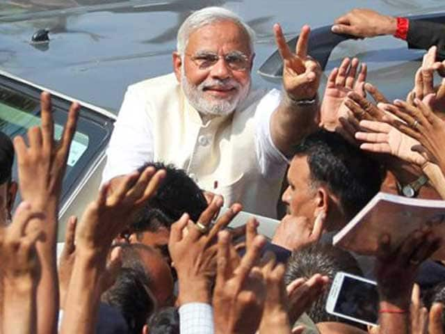 Video : Sensex, Nifty End at Record High on Modi's Landslide Win