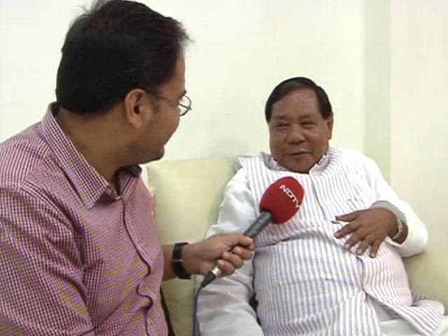 Video : Narendra Modi's Charisma Worked for NDA in Northeast: PA Sangma to NDTV