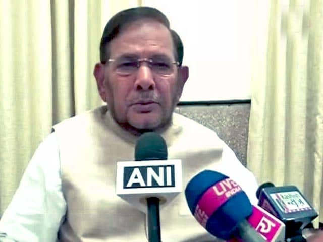 Video : Nitish Kumar's Decision to Quit 'Tough but Final', Says his Party Chief Sharad Yadav