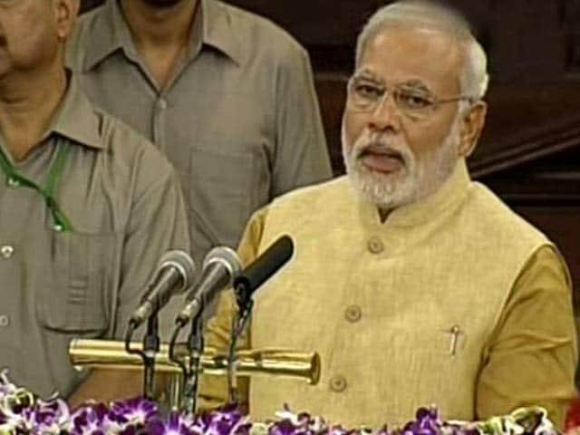 "Video : Request Advani Ji Not to Use the Word ""Kripa"", Says Tearful Modi"