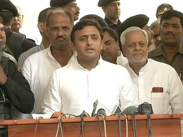 Video : Akhilesh Yadav Sacks 36 Minister-rank Leaders After Poll Drubbing