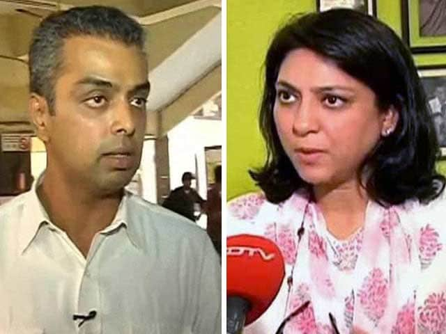 Video : Congress' Milind Deora, Priya Dutt Appear to Criticize Leadership