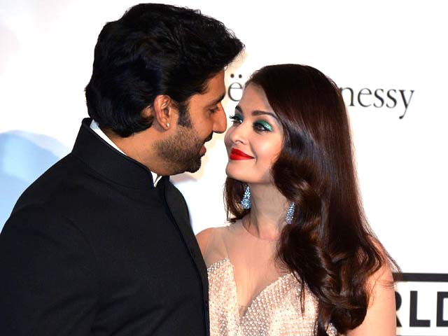 Video : Aishwarya, Abhishek Host Star-Studded amfAR Gala