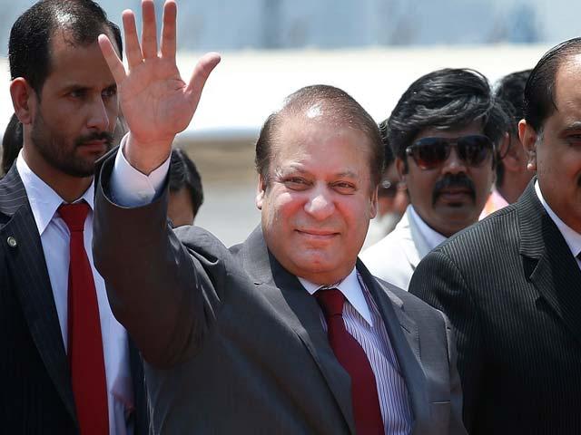 Video : 'Carrying Message of Peace' Nawaz Sharif Arrives in Delhi