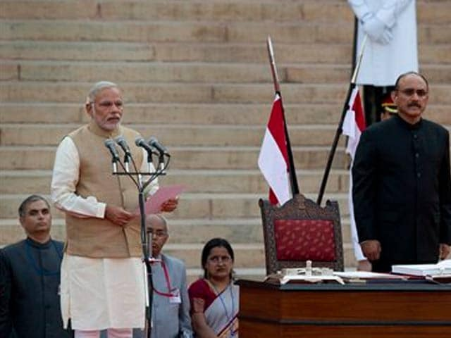 Video : Narendra Modi Sworn In as India's 15th Prime Minister