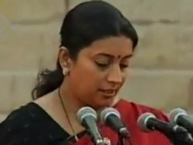 Video : Smriti Irani on the Education Challenges that Need to be Tackled