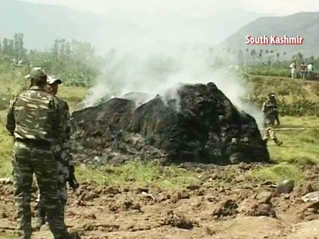 Video : MiG-21 Crashes in Jammu and Kashmir, Pilot Dead