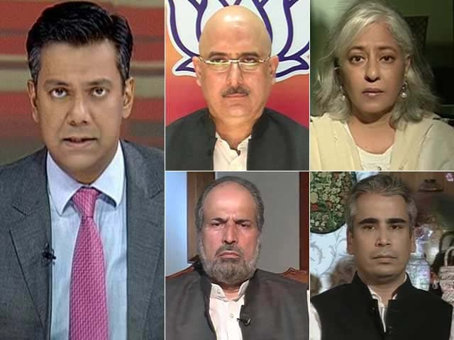 debate regarding report 370 with hindi