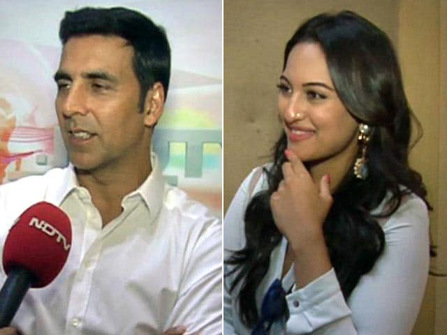 Video : Which IPL Teams are Akshay and Sonakshi Supporting?