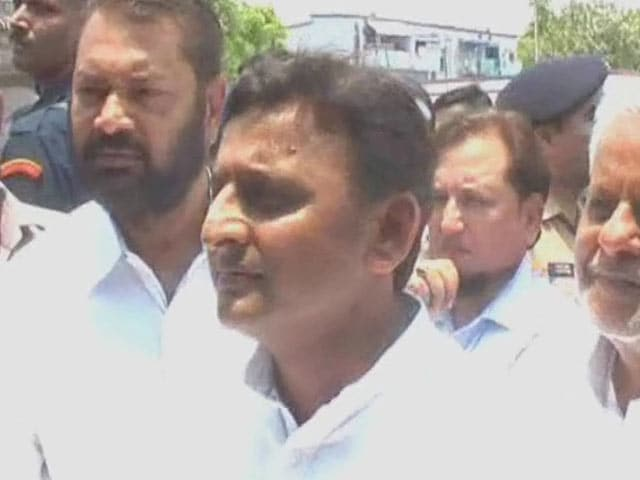 Video : 'You Are Safe, Aren't You?': Defiant Akhilesh on Being Questioned Over Law and Order