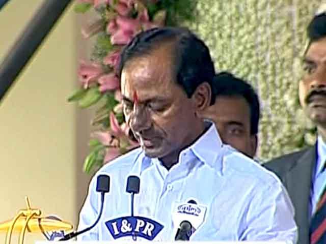 Videos : के चंद्रशेखर राव ने ली तेलंगाना के मुख्यमंत्री पद की शपथ