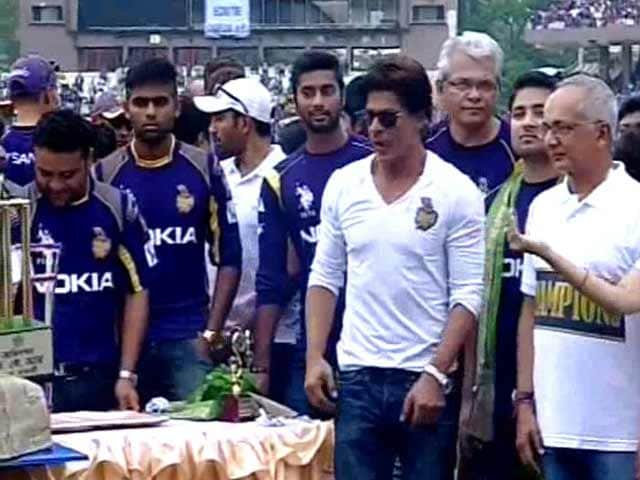 Kolkata Knight Riders Bring Eden To Their Feet