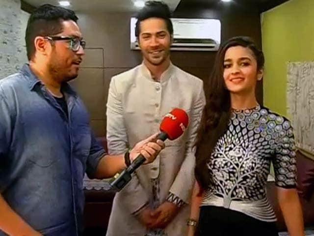 Video : Varun, Alia: No Rhyme or Reason