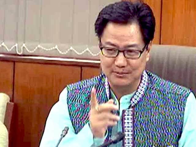 Video : केंद्रीय मंत्री रिजीजू ने यूपी सरकार की नाकामी पर सवाल उठाए
