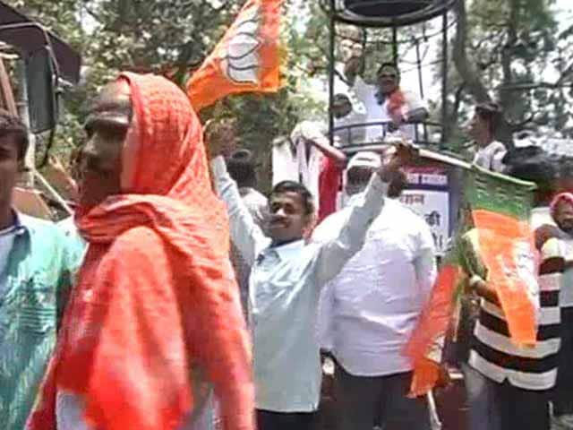 Video : After Yashwant Sinha's Arrest, BJP protests Against Power Cuts in Hazaribagh