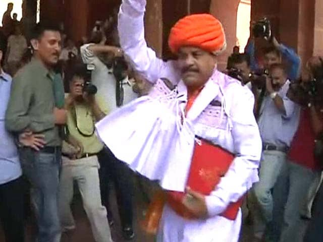 Video : This MP Danced His Way Into Parliament