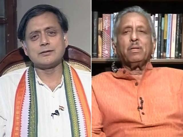 Video : Praise for Narendra Modi: Mani Shankar Aiyar Accuses Shashi Tharoor of 'Chameleon Politics'