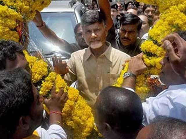 Video : Chandrababu Naidu to Take Oath as New Andhra Pradesh Chief Minister Today