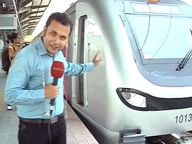 Video : कैसी है मुंबई की मेट्रो?